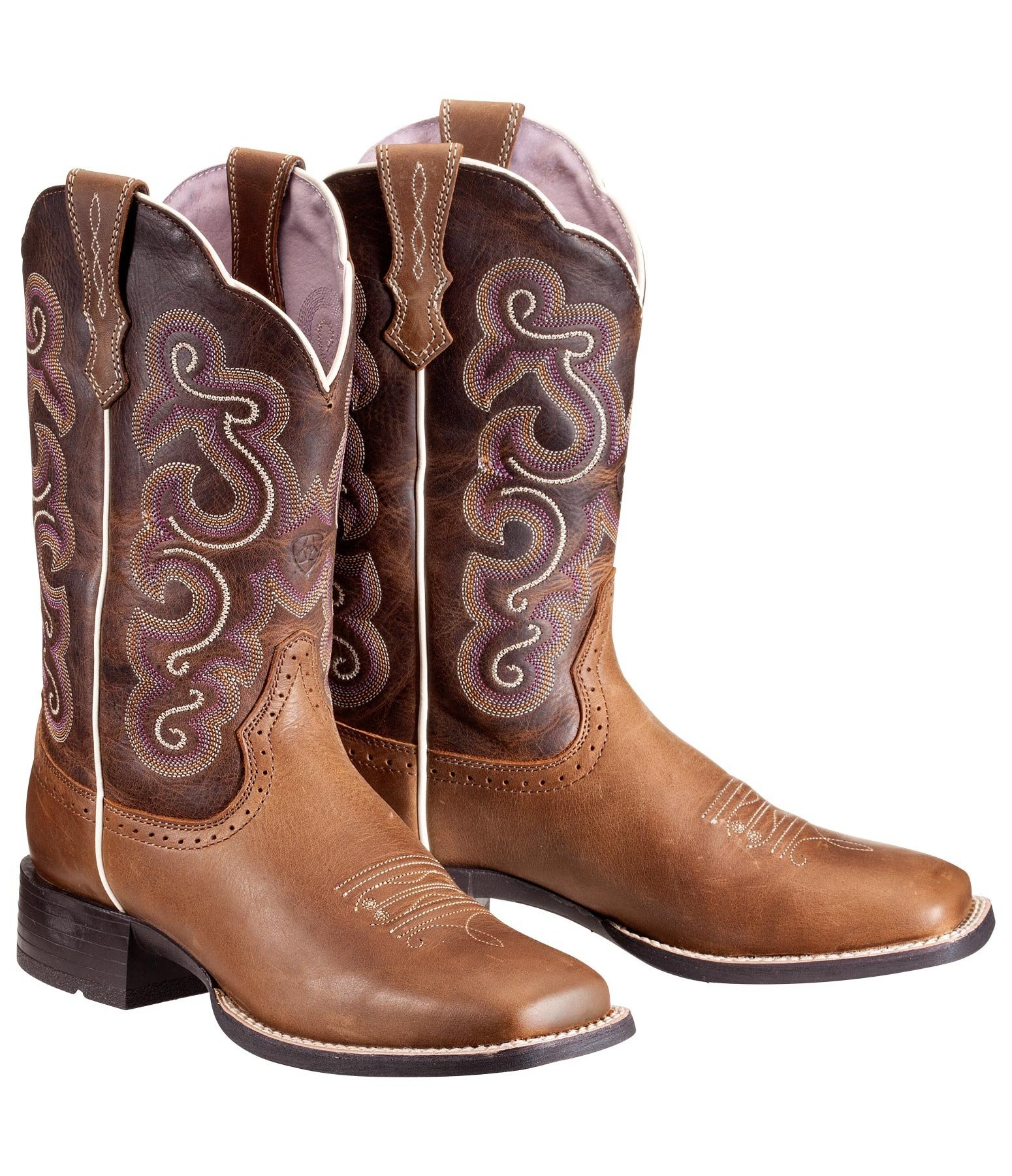 Bottes femmes Quickdraw Badlands Brown - Bottes western   Eperons ... fd66e26a04cf