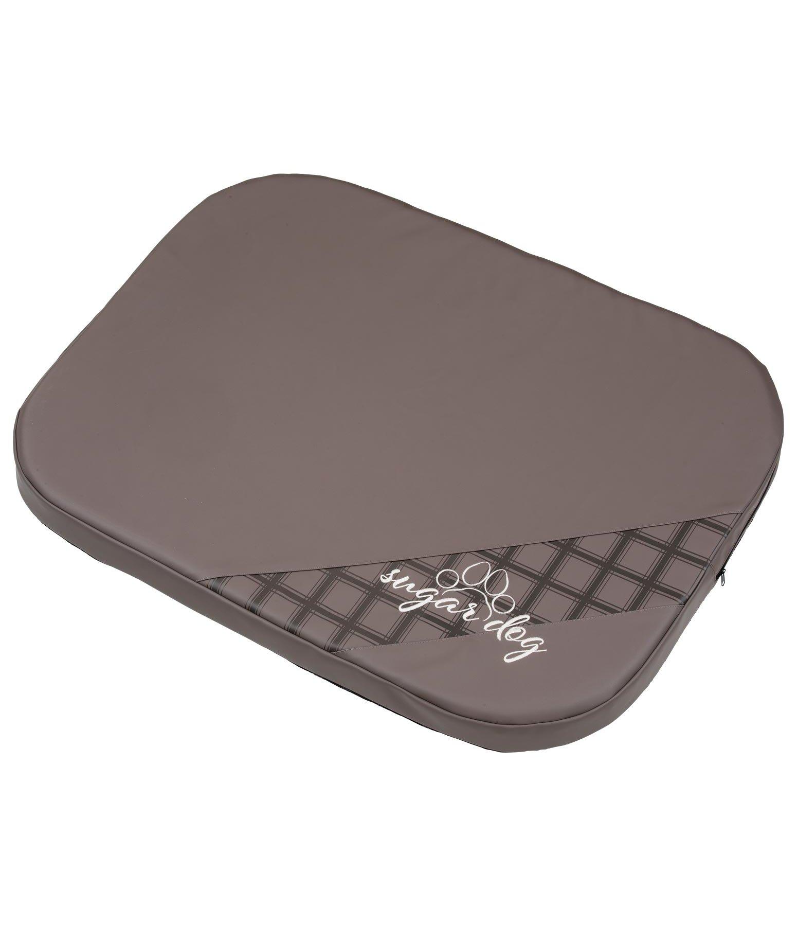 matelas m moire de forme synth tique effet cuir pour chien miro lits coussins kramer. Black Bedroom Furniture Sets. Home Design Ideas