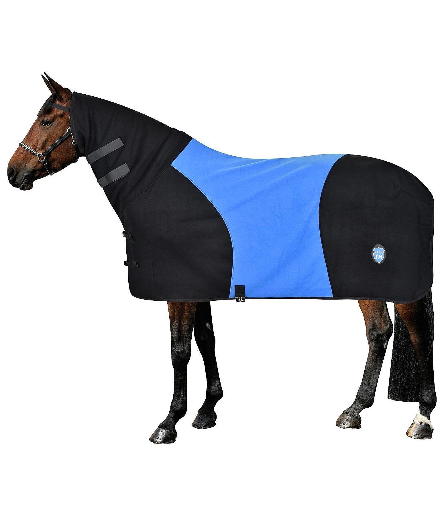 couverture en polaire bicolore combo chemises s chantes kramer equitation. Black Bedroom Furniture Sets. Home Design Ideas
