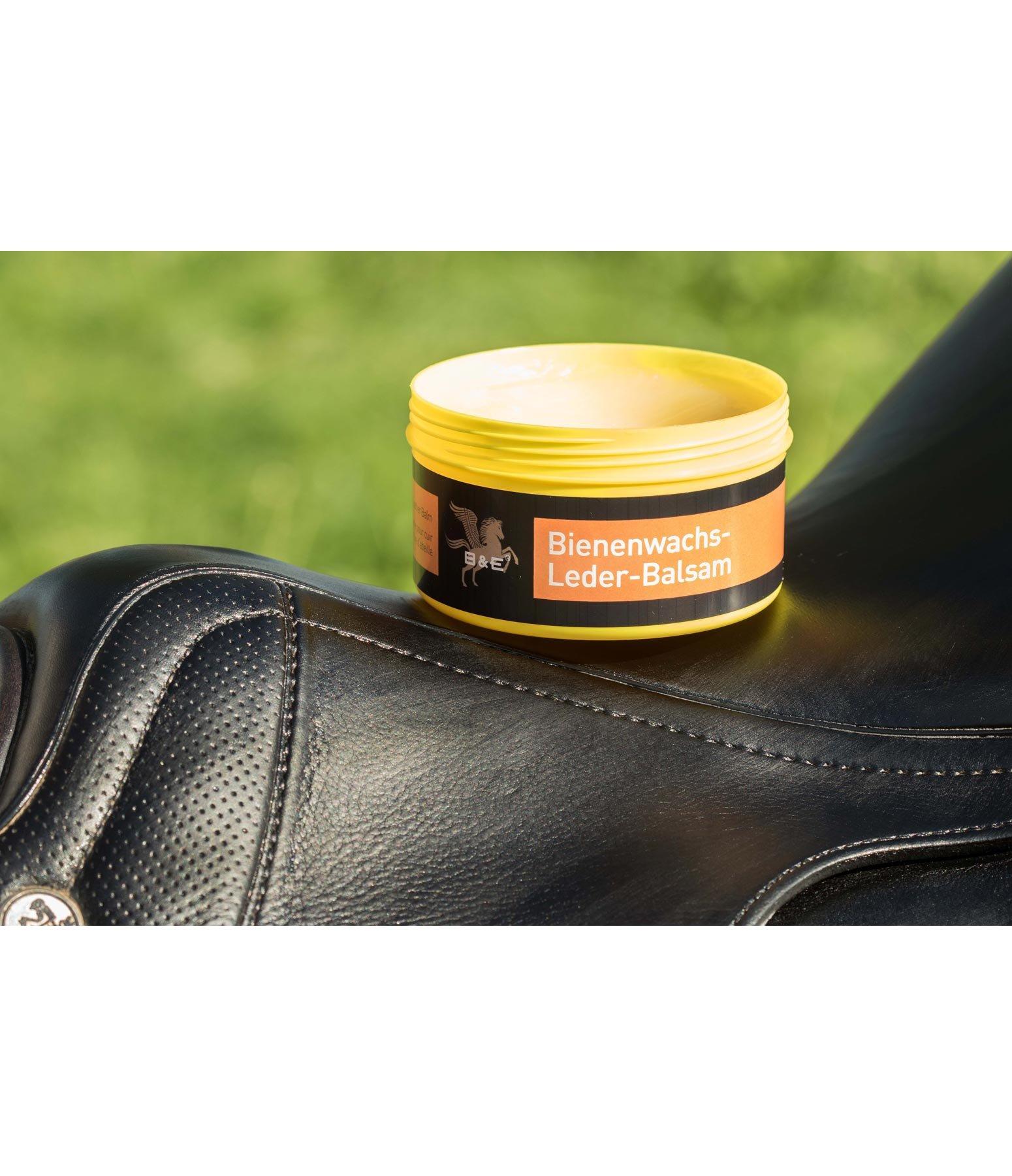 baume d 39 entretien pour cuir base de cire d 39 abeille b e soins du cuir kramer equitation. Black Bedroom Furniture Sets. Home Design Ideas