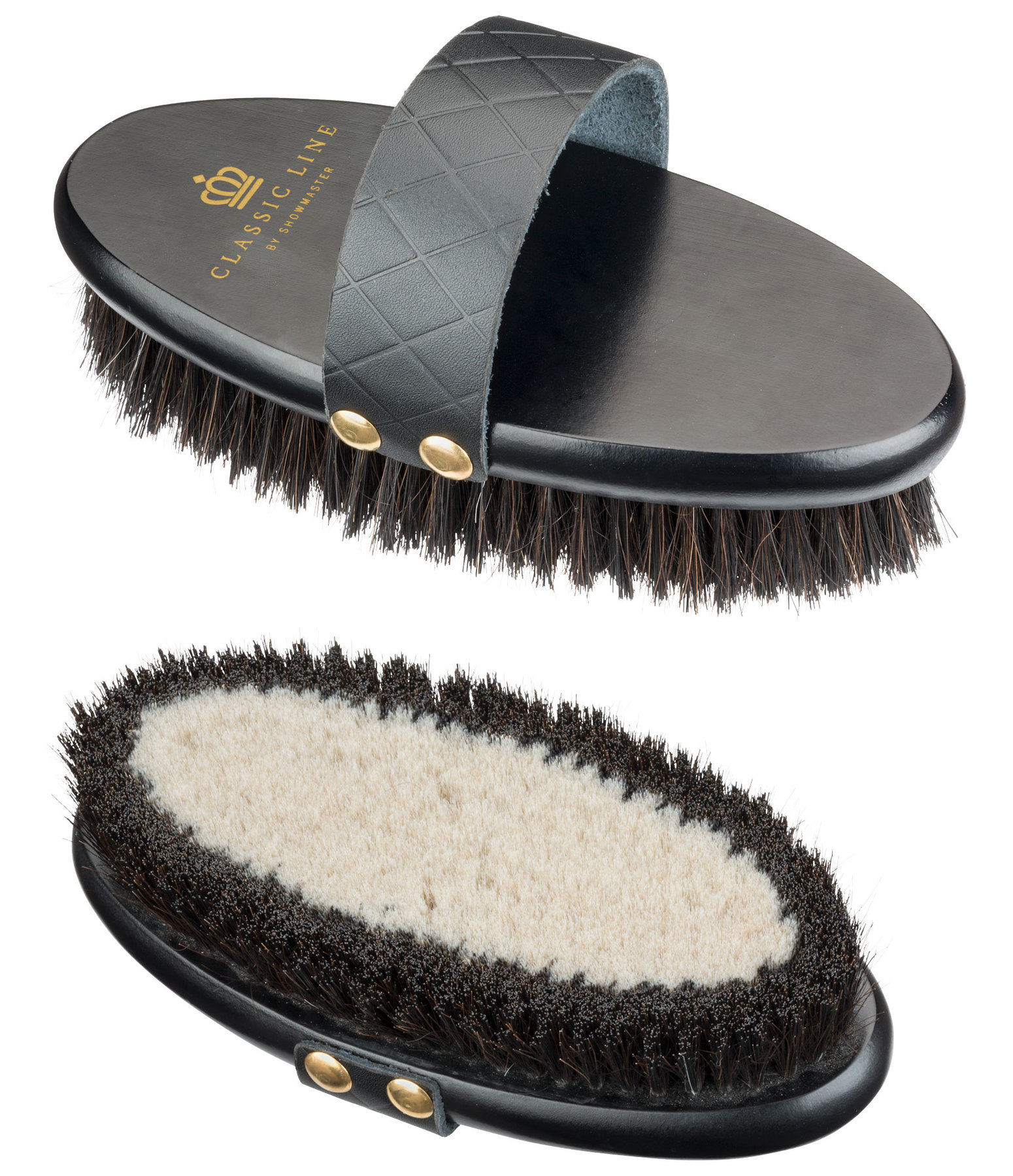 Brosse douce brillance 2 en 1 Classic Line by SHOWMASTER