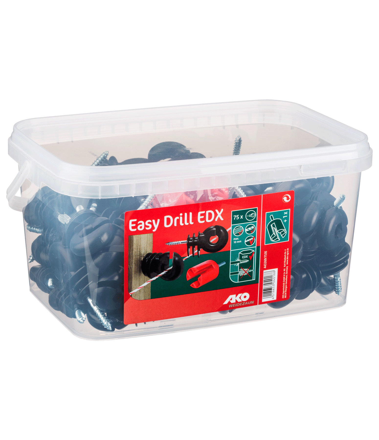 Isolateurs annulaires Easy Drill en seau