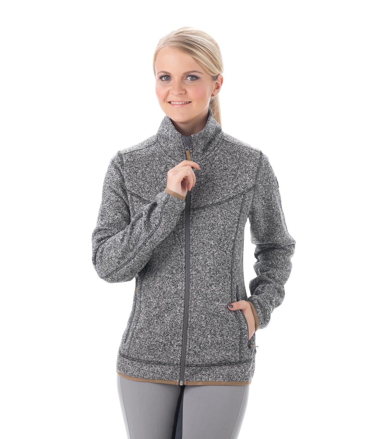 veste polaire tricot lesia mode femme kramer equitation. Black Bedroom Furniture Sets. Home Design Ideas