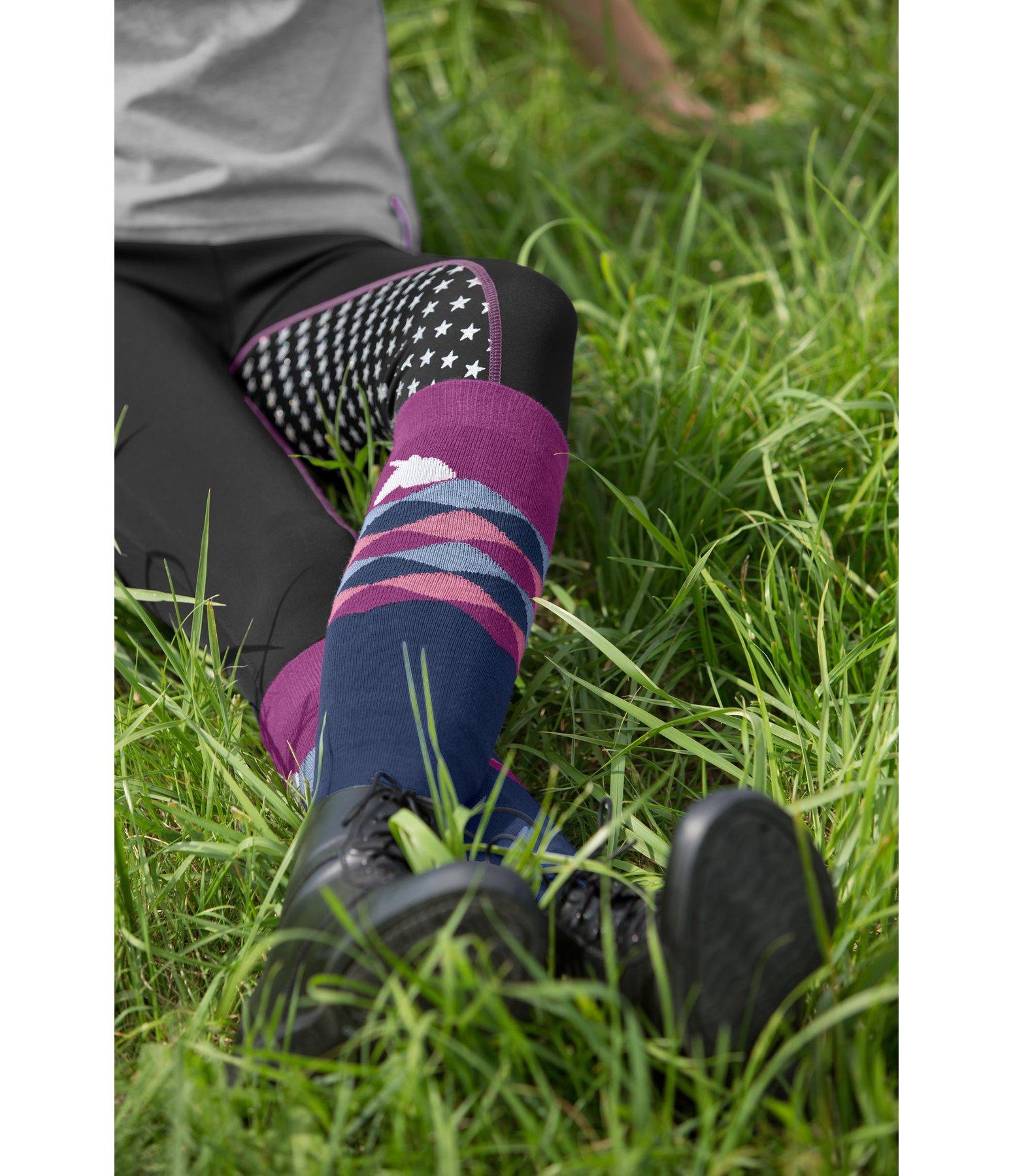 chaussettes hautes enfants licorne chaussettes kramer equitation. Black Bedroom Furniture Sets. Home Design Ideas