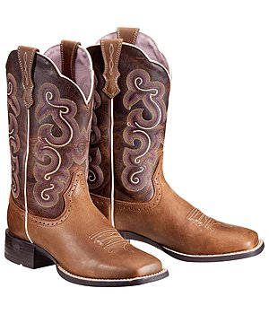 ARIAT Bottes femmes Quickdraw Badlands Brown , 182527