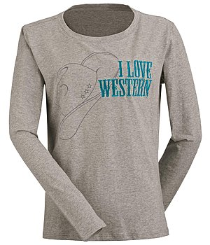 STONEDEEK T-shirt manches longues  I love Western - 182750-S-GR