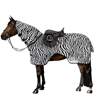 THERMO MASTER Couvre-reins anti-mouches  Zebra avec couvre-cou - 421903
