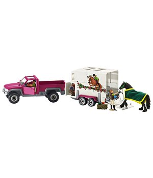 Schleich Pick-up avec van  Horse Club - 621290