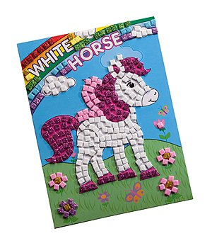 SHOWMASTER Sticker Mosaïque  Cheval et princesse - 621401