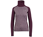 Felix Bühler T-shirt à manches longues zippé Stretch-Performance  Emilia - 652471-M-AU