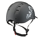 KNIGHTSBRIDGE Casque d'équitation  Accent Design Butterfly - 780240-S-S - 2