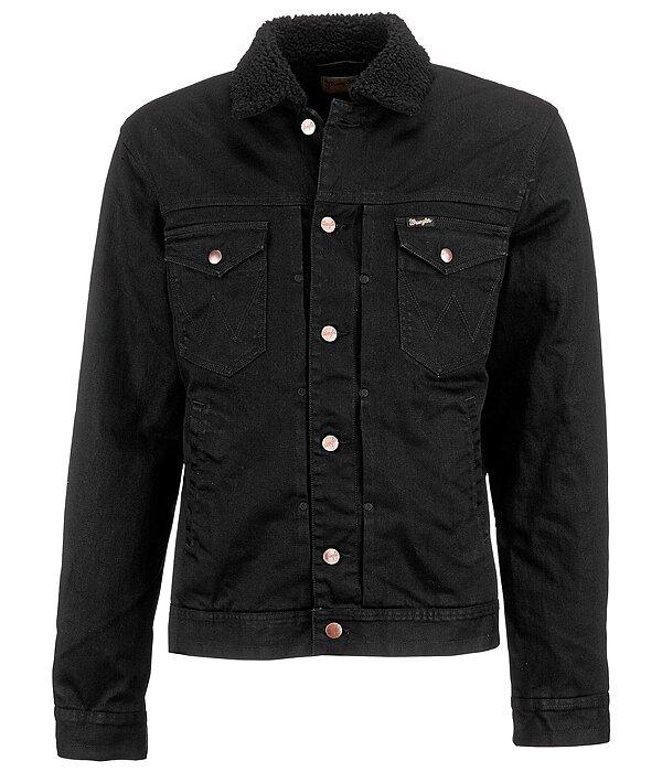 veste en jeans sherpa vestes blousons et gilets pour homme kramer equitation. Black Bedroom Furniture Sets. Home Design Ideas