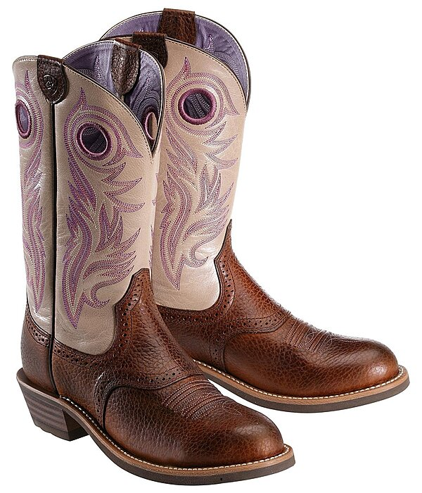 bottes western femme women 39 s shadow rider brown oiled