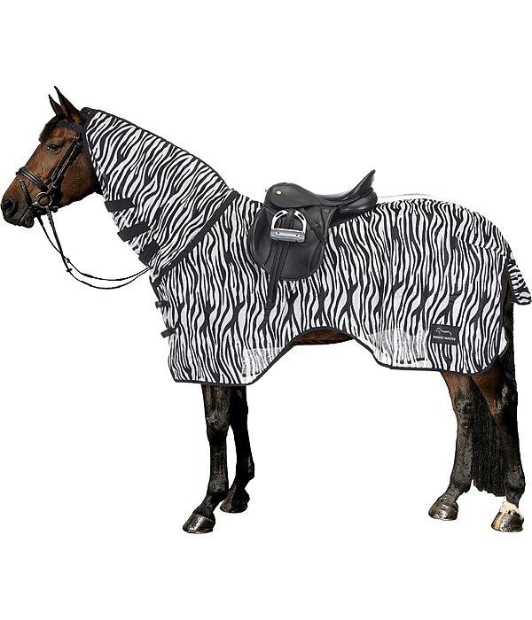Couvre-reins anti-mouches  Zebra