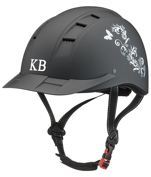 KNIGHTSBRIDGE Casque d'équitation  Accent Design Butterfly - 780240-S-S